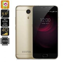 "Smartphone 5.5"" 4G Android 6.0 Helio P10 Octa Core 2.0Ghz 4Gb Ram 32Go"
