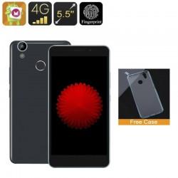Smartphone Double Sim 5.5 Pouces 4G Android 6.0 Quad Core 1Go Ram 8Go