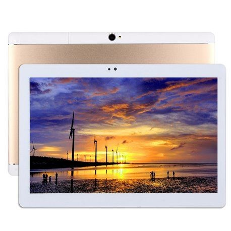 "Tablette 4G multimédia 32 Go 10"" Android 7.0 Octa Core 2Go RAM Or"