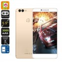 Smartphone 5.5 Pouces 4G Dual Sim Android 6.0 Fhd Dual Caméra 16Go Or