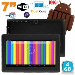 Tablette tactile Android 4.4 KitKat 7 pouces Dual Core 4Go