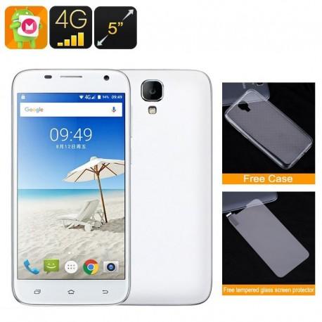 Smartphone 5 Pouces Hd 4G Android 6.0 Quad Core Dual Sim Gps 1Gb Ram