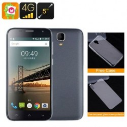Smartphone 5 Pouces Android 6.0 Quad Core 4G Double Sim Hd Gps 1Gb Ram