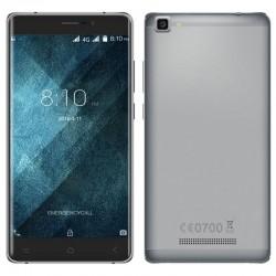 Smartphone Android 6.0 Quad Core 4G 5.5 Pouces HD Dual Sim 16Go Gris